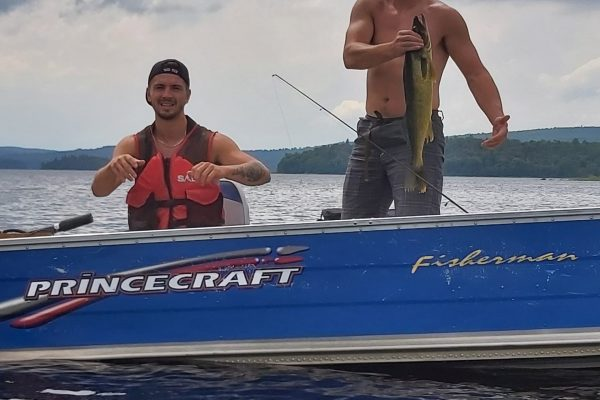 Pêcheur au doré